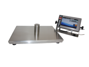 Monitoring the Weight of Material Using Floor and Bench Scales