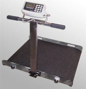 Wheelchair Scales Used in Medical Care Industry