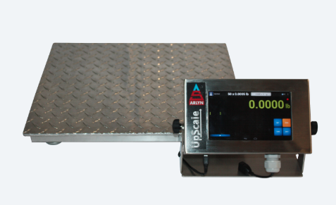 Platform Scales For Package Weighing