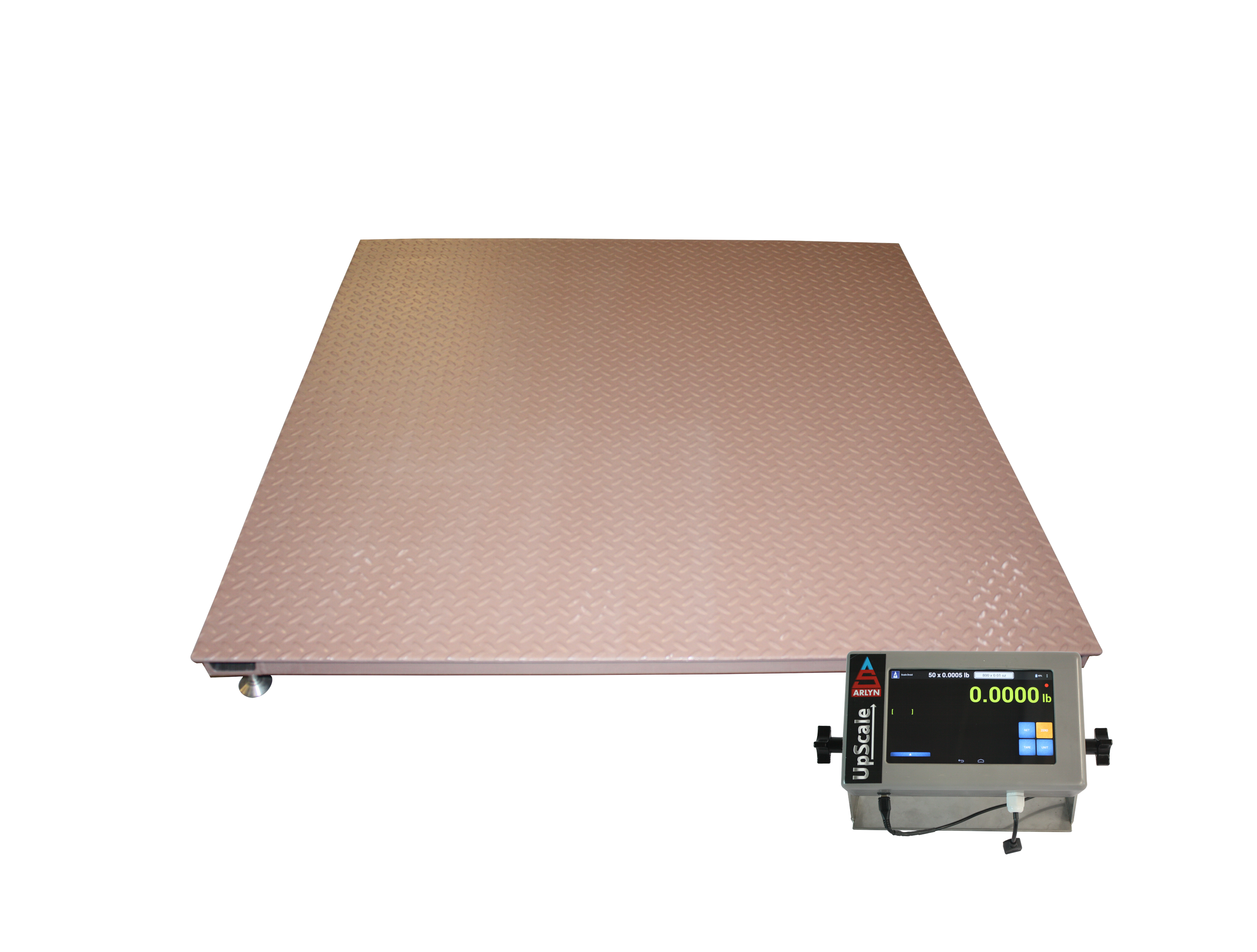 Floor Scales With Large Graphics LCD Digital Display   Steel