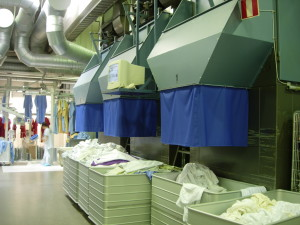 commercial laundry equipment platform scales help ease the load